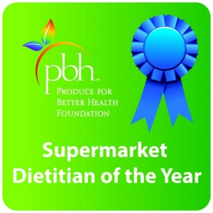 PBH Supermarket Dietitian of the Year 2014
